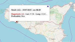Terremoto in Sicilia oggi, 19 luglio 2019: scossa M 2.3 in ...