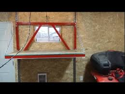 garage attic lift construction you