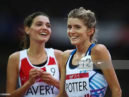 Beth Potter of Scotland and Kate Avery of England smile after... News Photo  - Getty Images
