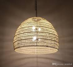 new chinese style rattan lamp pendant