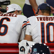 Mark Sanchez provides Mitch Trubisky ...