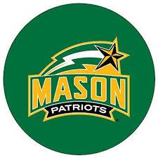 Amazon Com George Mason Patriots Decal Rr 4 Round Vinyl Auto Home Window University Of Sports Outdoors