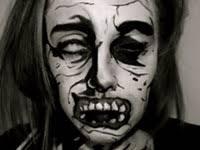 walking dead ic book zombie makeup