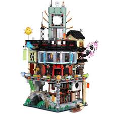06066 4953pcs Ninjago City Masters of Spinjitzu Building Blocks ...