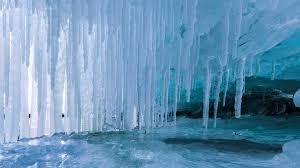 lake superior icicles bing wallpaper