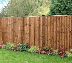 Grange Weston Featheredge Dark Brown 6 X 6 Ft Fence Panel Gardensite Co Uk