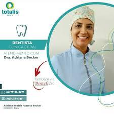 Totalis Saúde - ➡️ A Dra. Adriana realiza atendimento clínico geral e  aparelhos ortodôntico aqui na Totalis e está pronta e preparada para  auxiliar você no que for necessário! ✔️ Atendimento também