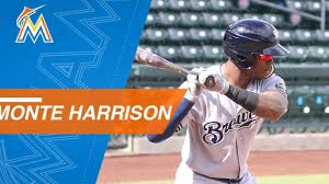 Top Prospects: Monte Harrison, OF, Marlins - YouTube
