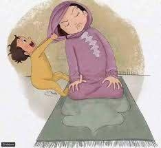 رسومات كرتونية مضحكة للغاية تكشف لنا مدى معاناة الأم مع أطفالها رائج