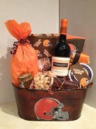 cleveland browns nfl gift basket