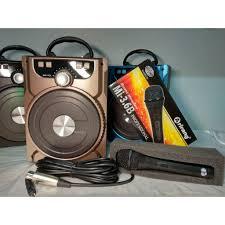 Loa xách tay karaoke bluetooth không dây + tặng 1 Mic dây chính hãng Arirang  hút âm to chuẩn, giá chỉ 471,000đ! Mua ngay kẻo hết!