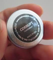 makeup geek corrupt eyeshadow review