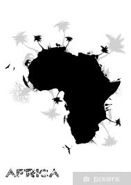 Africa Continent Wall Mural Pixers We Live To Change