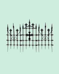Fence Gate Cemetery House Clip Art Png 950x1200px Fence Black And White Cemetery Chainlink Fencing Drawing