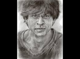 sketching shah rukh khan part 2 srk