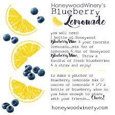 blueberry wine lemonade