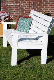 27 best diy outdoor bench ideas and