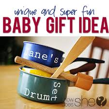 unusual baby gifts