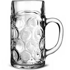 stoelzle german beer stein glass 2
