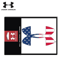 Under Armour American Flag 6 Logo Decal Field Supply