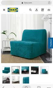 lycksele lovas ikea single sofa bed