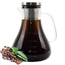 cold brew coffee maker glass iced