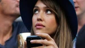 Break Time: iPhone camera befuddles Jessica Alba | Fox News