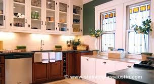 austin stained glass kitchen windows