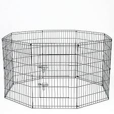 36 Tall Wire Fence Pet Dog Folding Exercise Yard 8 Panel Metal Playpen Ebay