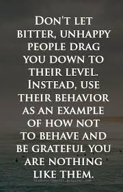 heartfelt quotes don t let bitter unhappy people drag you down