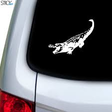 Alligator Bite Decal For Car Window Stickany