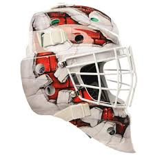 Bauer Nme4 Wall Decal Goalie Mask Senior Pure Goalie Equipment