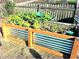 galvanized steel garden beds raised bed