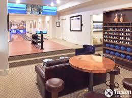 custom bowling alleys in homes