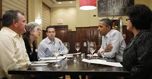Obama has dinner with 4 campaign donors - Deseret News