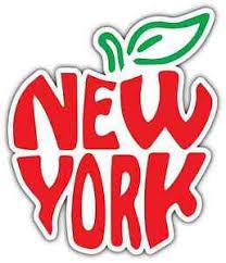 New York Big Apple City State I Love Ny Car Bumper Vinyl Sticker Decal 4 X5 Ebay