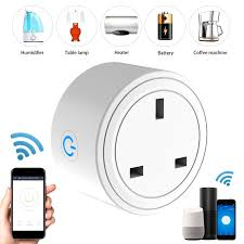 TP24 British Standard Socket Wifi Remote Control Smart Socket Household  Items|Electrical Sockets