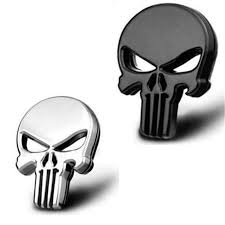 Car Styling 3d Metal The Punisher Skull Emblem Badge Car Stickers And Decals Auto Truck Motorcycle Car Accessories Automobiles Car Sticker Car Stickers And Decalscar Styling Aliexpress