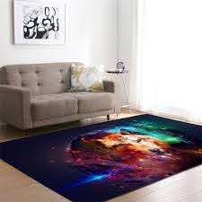 Nordic Style 3d Wolfs Carpet Boys Room Decor Bedside Rug Kids Play Area Rug Soft Flannel Home Decor Living Room Carpet Rugs Kashan Rugs Carpet One Locations From Periwinkle 40 8 Dhgate Com