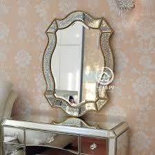vanity mirror wall decorative mirrored
