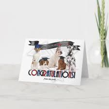 funny cute graduation dog gifts on zazzle