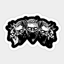 Nameless Ghouls Ghost Bc Sticker Teepublic