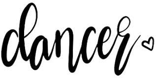 Amazon Com Js Artworks Dancer Heart Vinyl Decal Sticker Dance Dancing Shoes Shirt Black Automotive