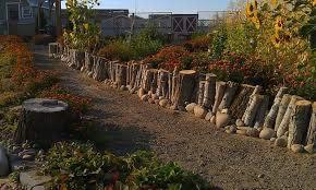 log walls log retaining wall love