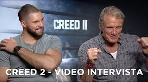Creed 2 - Video intervista a Dolph Lundgren e Florian Munteanu ...