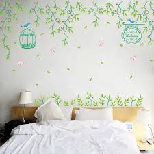 Small Fresh Warm Bedroom Bedside Wall Stickers Self Adhesive Stickers Wallpaper The Living Room Tv Backdrop