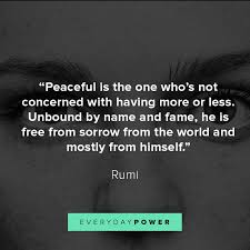 rumi quotes celebrating love life and light