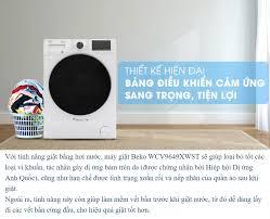 Máy giặt Beko Inverter 9 kg WCV9649XWST SX Thái Lan - Tiêu Chuẩn Châu Âu -  BH chính hãng 2 năm