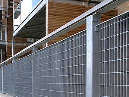 China Iso Hot Dip Galvanized Steel Grating Fence China Fence Bar Grating