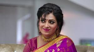 Priya Raman - Celebrity Style in Sembaruthi Episode 675, 2020 from Episode  675. | Charmboard